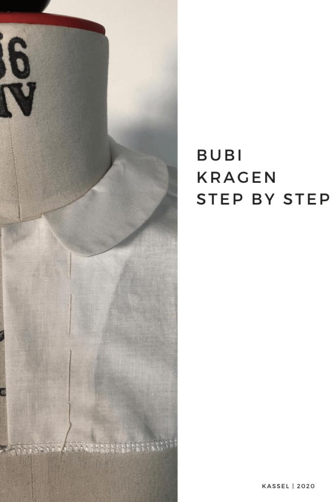 Bubikragen, Step by Step Anleitung, Tutorial Bubikragen